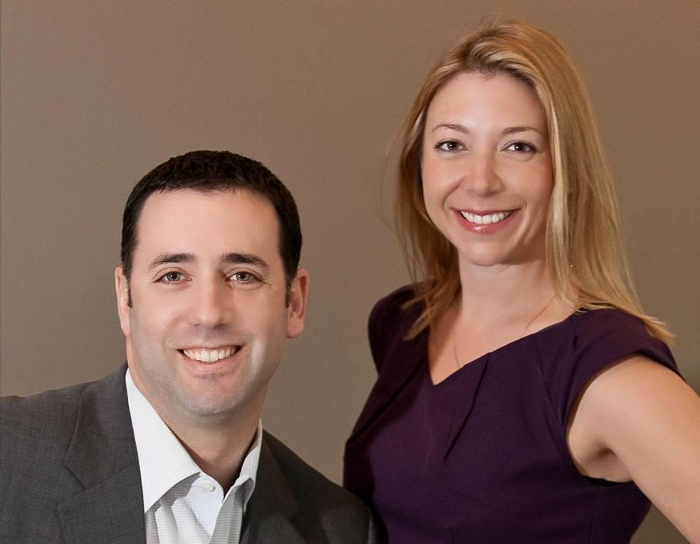 Yovi Sever and Natalie Hasny